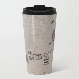 Clothes line  2 Travel Mug