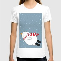 snowman T-shirts featuring Snowman by SANTA