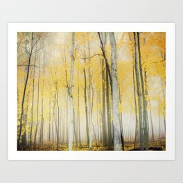 Yellow Art Print