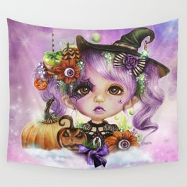 HALLOWEEN HANNAH Wall Tapestry