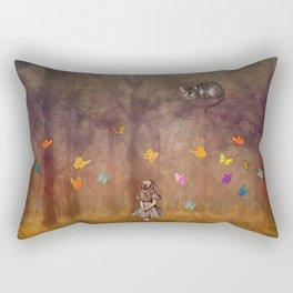 Wonderland Forest Rectangular Pillow