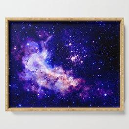 indigo galaxy : Celestial Fireworks Serving Tray