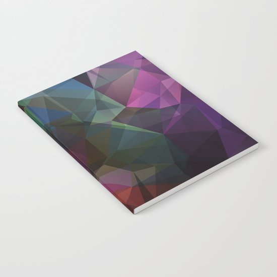 Colored polygon pattern. Notebook