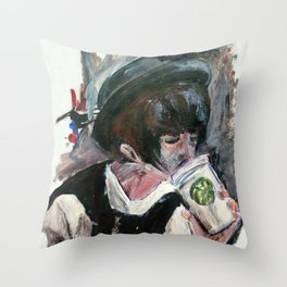 Coffee On The Go Throw Pillow