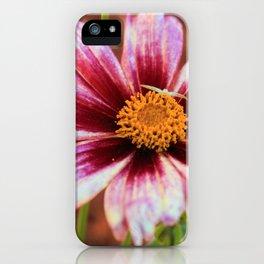 Hannah's Flower & Friend iPhone Case