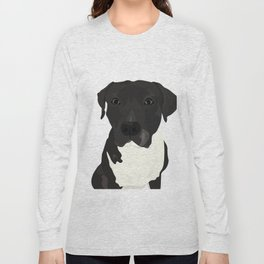 Atticus the Pit Bull Long Sleeve T-shirt