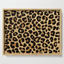 ReAL LeOparD Serving Tray