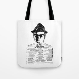 Jake Blues Brothers 'Four Fried Chicken' Tote Bag