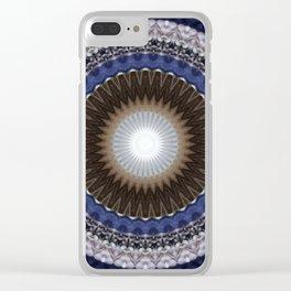 Recreational Maylanta Mandala 57 Clear iPhone Case