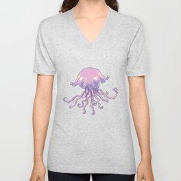 Jellyfish Art Jelly Lovers Ocean Animal Unisex V-Neck
