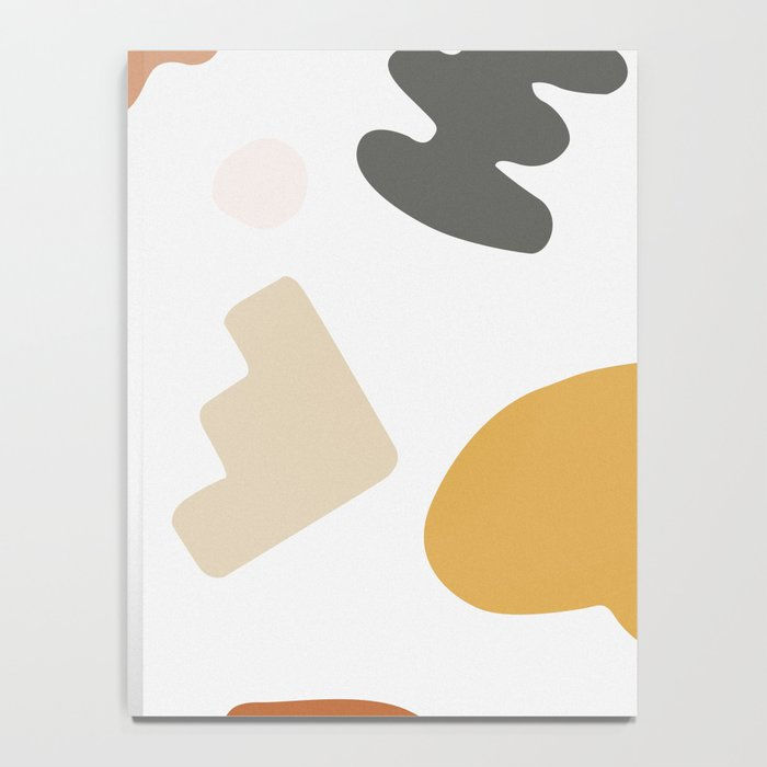Abstract Shape Series - Autumn Color Study Notebook