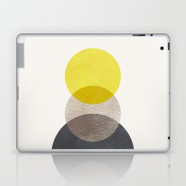 SUN MOON EARTH Laptop & iPad Skin