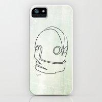 One line Iron Giant Slim Case iPhone (5, 5s)