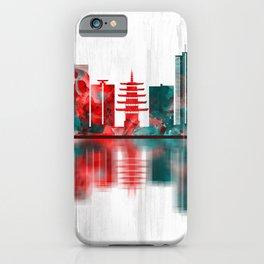 Kawasaki Japan Skyline iPhone Case