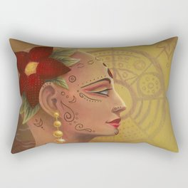 The Priestess Goddess of Austerity, Sacrifice, and Ritual Rectangular Pillow