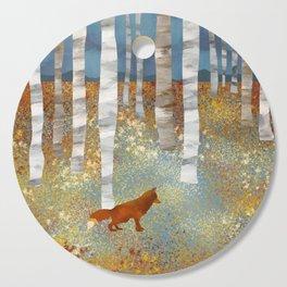 Autumn Fox Cutting Board