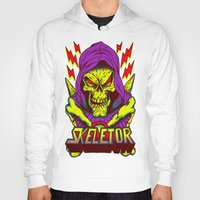 skeletor Hoodies featuring skeletor by Vincent Trinidad