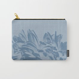 Dusty Blue Positive Negative Carry-All Pouch