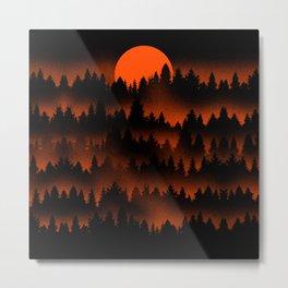 Incendio Metal Print
