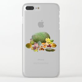 Exotic Fruit Clear iPhone Case