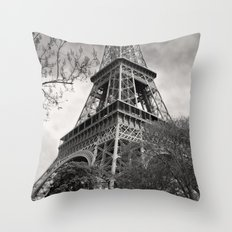 The Famous Tower 1 Throw Pillow