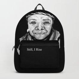 Maya Angelou - BW Original Sketch Backpack