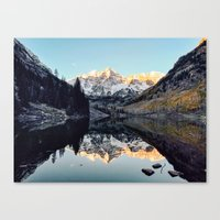 colorado Canvas Prints featuring Colorado by Joe Greer