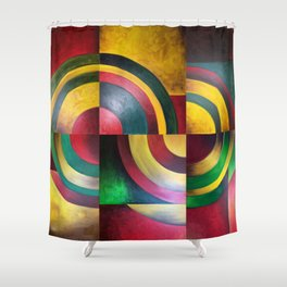 Miguez Art Abstract 1 Shower Curtain