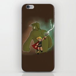 Hulk & Thor iPhone Skin