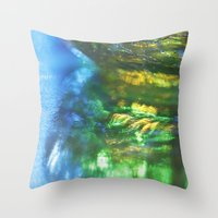 monet Throw Pillows featuring Monet Like by Cindi Ressler Photography