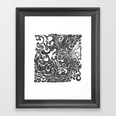 Pull Yourself Together Framed Art Print