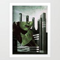Power Up Art Print
