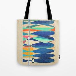Simple Fish (color version) Tote Bag