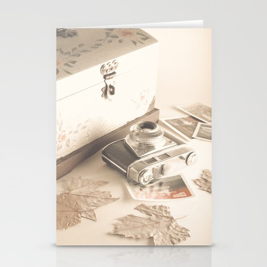 Remembers (vintage still life photography) Stationery Cards