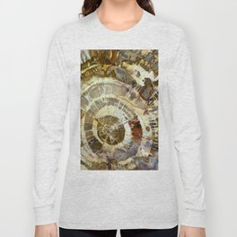 Abstract mineral texture Long Sleeve T-shirt