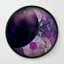 Moonflower Concord Wall Clock