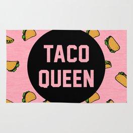 Taco Queen - pink Rug