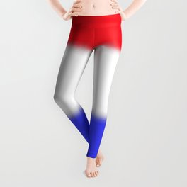 Red White and Blue Stripe Leggings