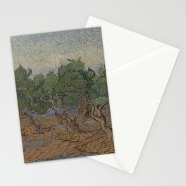 Olive grove Stationery Cards