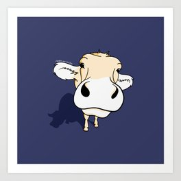 your friend 'Cow' Art Print