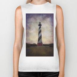 Cape Hatteras Lighthouse II Biker Tank