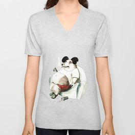 Mass Mickey Unisex V-Neck