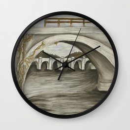 Harrisburg Bridge Wall Clock