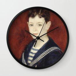 Renoir - Fernand Halphen as a Boy Wall Clock