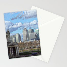 Royal naval college greenwich Stationery Cards