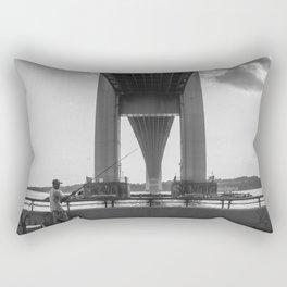 Under the Verrazano Rectangular Pillow