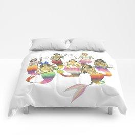 mermaids with axes Comforters