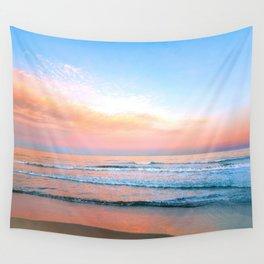 Pastel Ocean Wall Tapestry