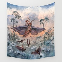 Noctuidae Wall Tapestry