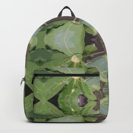 Almond Tree Pattern Backpack